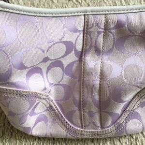 Coach Bags - *Authentic* Coach Lavender bag & coin purse